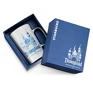 Disneyland Diamond Celebration Mug by Starbucks