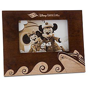 Disney Cruise Line Wood Photo Frame - 4 x 6