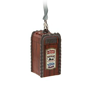 Frontierland Trash Can Ornament