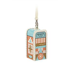 its a small world Trash Can Ornament