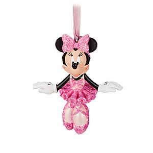 Minnie Mouse Ballerina Figural Ornament