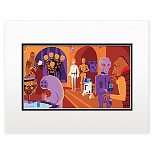 Star Wars Cantina Deluxe Print by Shag - Right Side