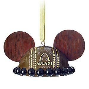 Aulani, A Disney Resort & Spa Ear Hat Ornament - Wood