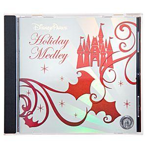 Disney Parks Holiday Medley CD
