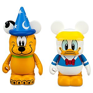 Storybook Vinylmation Donald Duck and Pluto 3 Figures -- 2-Pc.