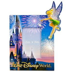 Tinker Bell Walt Disney World Photo Frame Magnet