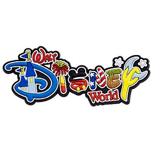 Walt Disney World Resort Logo Magnet