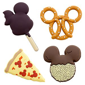 Disney Parks Snack Food Magnet Set -- 4-Pc.