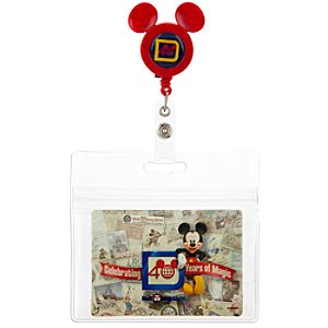 40th Anniversary Walt Disney World Fastpass Retractable Holder
