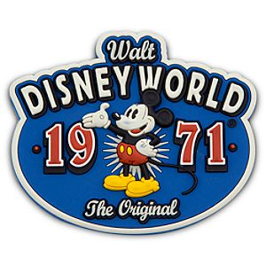 Walt Disney World 1971 - The Original PVC Magnet