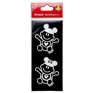 Disney Parks Authentic Family Window Decal -- Baby
