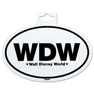 Walt Disney World Car Sticker