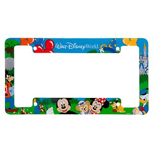 Park Fun Walt Disney World License Plate Frame