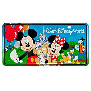 Park Fun Walt Disney World License Plate