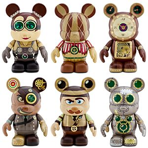 Vinylmation Steam Park Set 3 Figures -- 6-Pc.