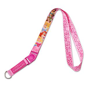 Pin Trading Disney Princess Lanyard