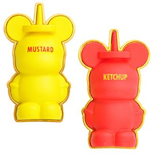 3-D Condiments Vinylmation Pin Set -- 2-Pc.
