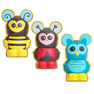 3-D Cutesters Vinylmation Pin Set -- 3-Pc.