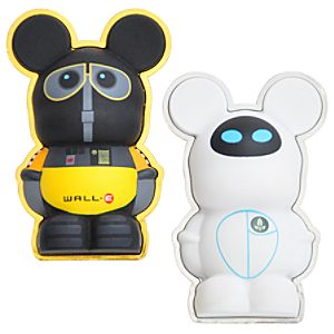 3-D WALL•E and EVE Vinylmation Pin Set -- 2-Pc.