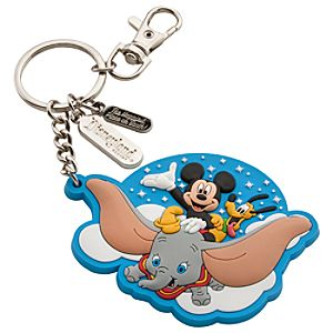 Disney Storybook Attractions Magic Kingdom Keychain