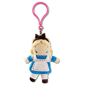 Pook-a-Looz Alice Plush Toy Keychain -- 5''