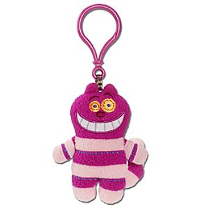 Pook-a-Looz Cheshire Cat Plush Toy Keychain -- 5''