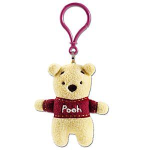 Pook-a-Looz Winnie the Pooh Plush Toy Keychain -- 5''