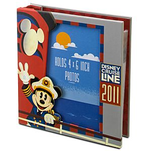 2011 Disney Cruise Line Photo Album with Frame