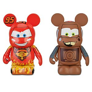 Vinylmation Cars 2 Figures: Lightning McQueen and Tow Mater -- 2-Pc. Set
