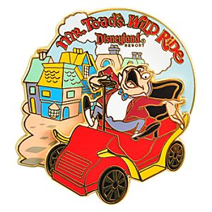 Mr. Toads Wild Ride Pin