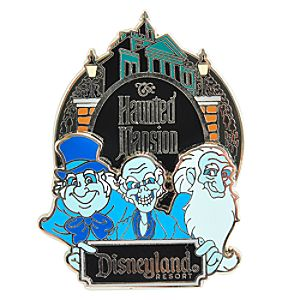 Hitchhiking Ghosts Haunted Mansion Pin