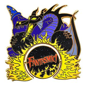 Fantasmic! Mickey Mouse Pin
