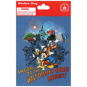 I'm Going to the Walt Disney World Resort! Window Cling