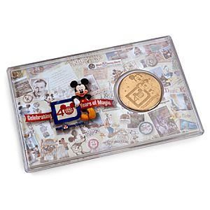 40th Anniversary Walt Disney World Coin