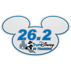In Training RunDisney 26.2 Mickey Mouse Magnet
