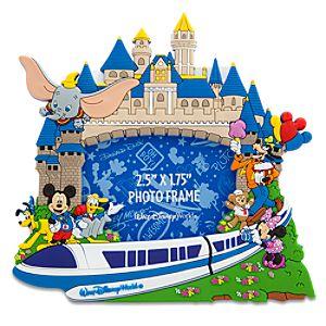 Storybook Walt Disney World Resort Photo Frame Magnet -- 2 1/2 x 1 3/4