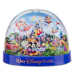 Storybook Walt Disney World Resort Snowglobe