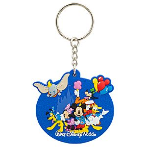 Storybook Walt Disney World Resort Keychain