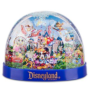Storybook Disneyland Snowglobe