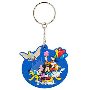 Storybook Disneyland Resort Keychain