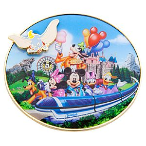 Storybook Disneyland Resort Flying Dumbo Magnet