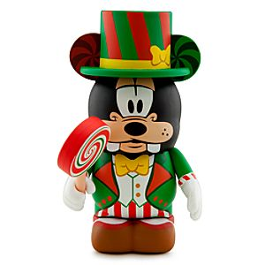 Mickeys Very Merry Christmas Party Vinylmation 3 Figure -- Goofy