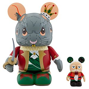 Vinylmation Holiday 3 Series 9 Figure -- Mouse King with 3 Nutcracker