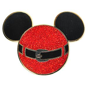 Icon Santa Mickey Mouse Pin