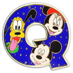 Alphabet Mickey Mouse and Friends Pin -- Q