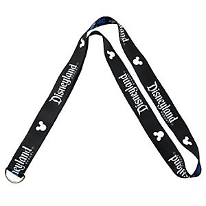 Reversible Disneyland Mickey Mouse Lanyard