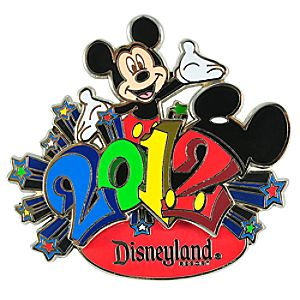 2012 Disneyland Mickey Mouse Pin