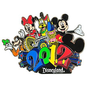 2012 Disneyland Mickey Mouse and Friends Pin