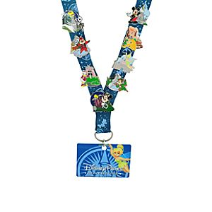 Online Exclusive Disney Parks Adventure Pin Starter Set