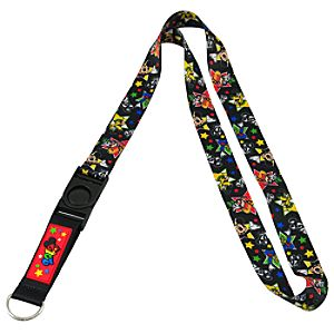2012 Disney Parks Mickey Mouse and Friends Lanyard